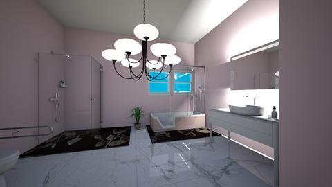 A pink bathroom  - Bathroom  - by kaylaparis