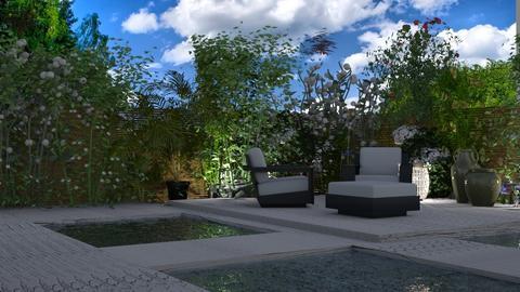 jardin - Garden - by yonvie