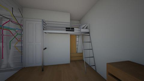 Lonnekes slaapkamer - Kids room  - by Mirei30