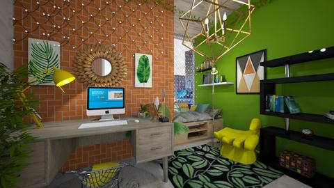 uj office  - Modern - Office  - by hello hi hello