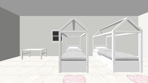 Habitacion Maria y Sofia - Kids room  - by clasesytutorias