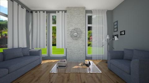 Minimal Grey - Minimal - Living room - by abbyt94
