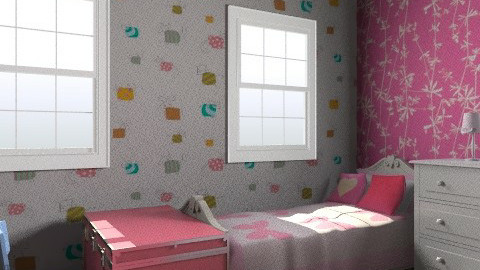 maya and tati's room in L.A - Minimal - Kids room  - by frankersforyou