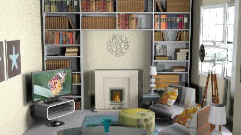 MillyC - Retro Living take 2 - Retro - Living room  - by hunny