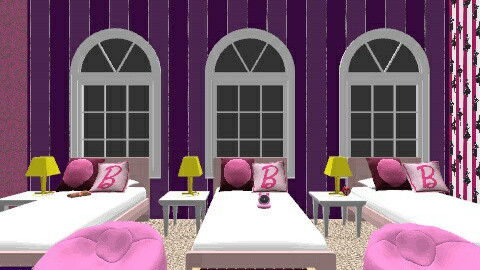 Annie Anna Anabelle - Glamour - Kids room  - by SkylarGrey_
