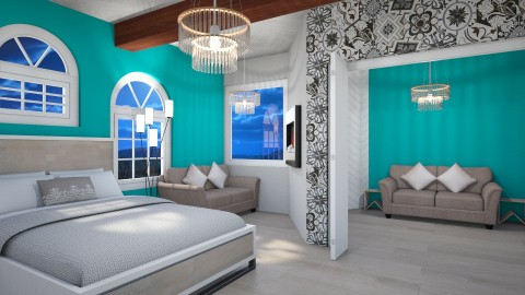 Jupiter Hills Guest Suite - Classic - Bedroom  - by deleted_1499301775_GraceCale