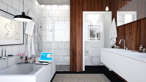 mcm bathroom - Bathroom  - by anamarijag00