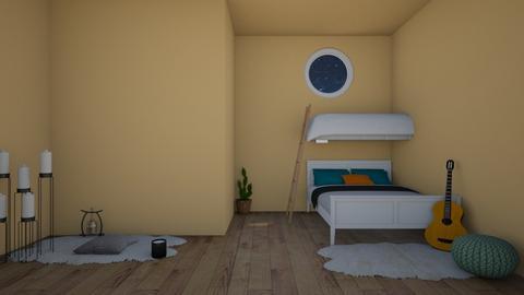lue lue lue lue  - Bedroom  - by Pompompudding