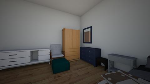 das Schlafzimmer - Bedroom  - by allison e