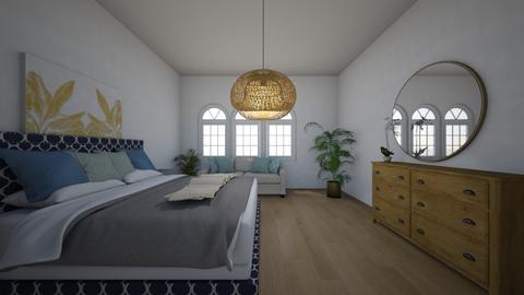 Coastel bedroom - Bedroom  - by JKGaidu