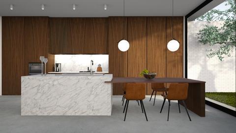 549 - Modern - Kitchen  - by Claudia Correia