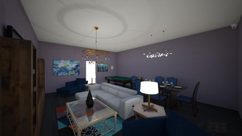 floor plan 3 - Living room  - by Raleigh_Schick2006