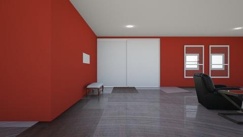 My Actual Basement - Modern - Living room  - by Charginghawks