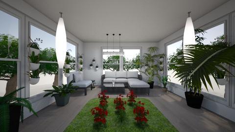 Indoor garden - Modern - Garden  - by Szilvia16
