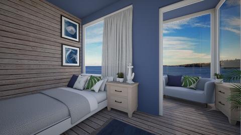 Nautical Bedroom - by Loca910