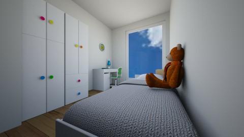 kids room 1 - Modern - Kids room  - by francylenzi