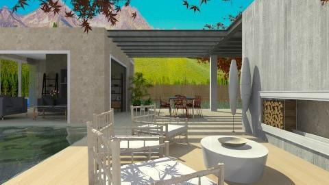 Home Space_2 - Garden  - by Namiraz