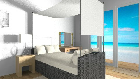 beach bedroom - Minimal - Bedroom  - by Regi Fransiskus