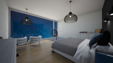 Couples Night Sky Room - Bedroom  - by ame31939