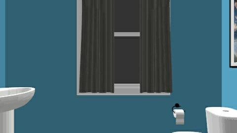 Powder Room - Minimal - Bathroom  - by KennaRee