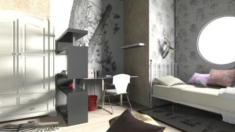 First - Bedroom  - by yopaaretta
