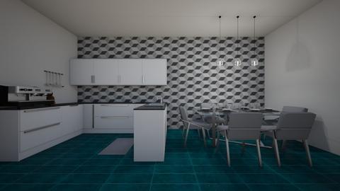 design challenge 3 - Kitchen  - by julesbuckleyy