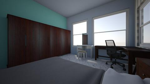 Simple - Minimal - Bedroom  - by persephone1212