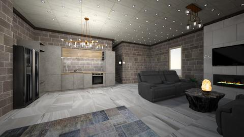 Stone type - Modern - Living room  - by JR xD22