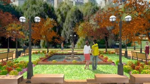 a walk in the park  - Garden  - by aimee_noelle