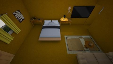 landon l - Rustic - Bedroom  - by leandel20