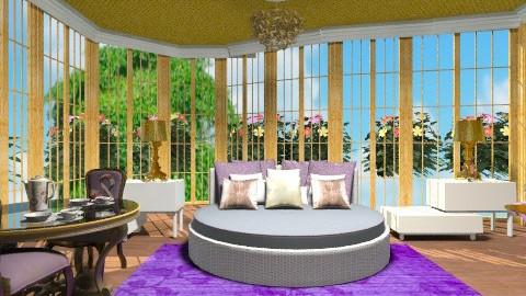 Royal bedroom - Eclectic - Bedroom  - by wiljun