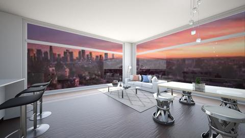 Los Angeles Apartment - Modern - Living room  - by Taehyungie