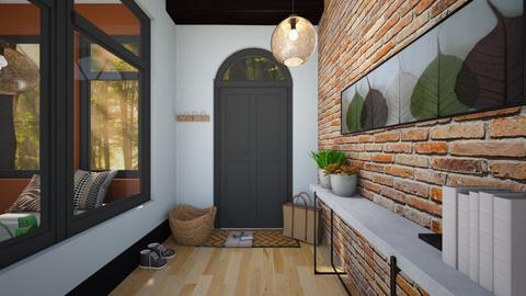 Autumn hallway - by Esko123