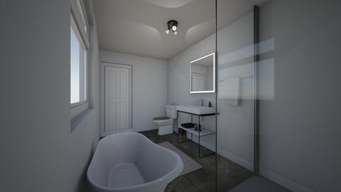 field view bath - Bathroom  - by mattblants