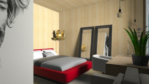 Fuma Chambre - Minimal - Bedroom  - by 3rdfloor