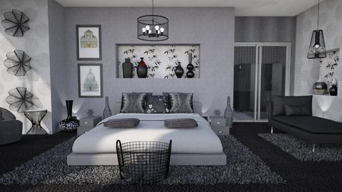 dark colors bedroom - Living room  - by Moonpearl