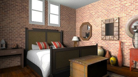 hfdgb - Rustic - Bedroom  - by Yoshi Yogataga