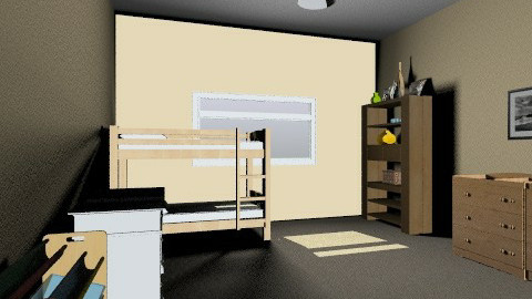 My Room updated - Country - Bedroom - by batha2001