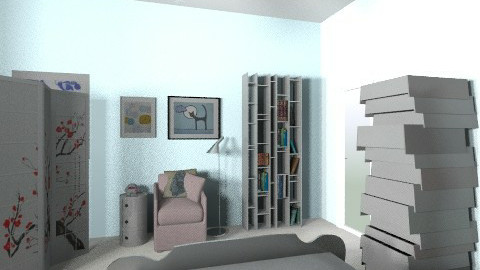 Jazzin for Blue J 4 - Vintage - Bedroom - by karine_enirak