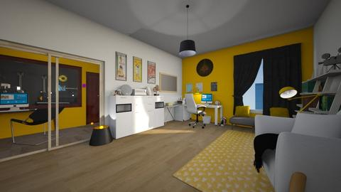 teenager room - Living room - by niok