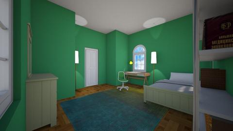 Evergreen Bedroom - Bedroom  - by Snowball Styler