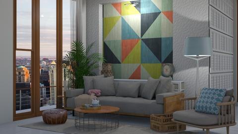 Argyle geometrics - by maheen ahsan