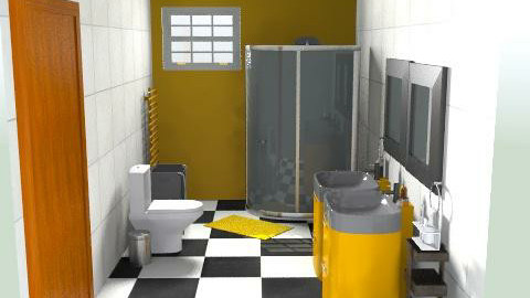 Bathroom rh - Minimal - Bathroom  - by jodiangel