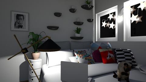 aesthentic room - Bedroom - by landen russo