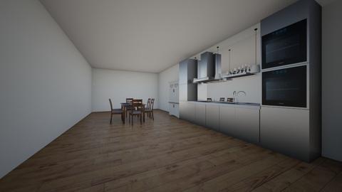 dining room and kitchen - Kitchen  - by Kara09