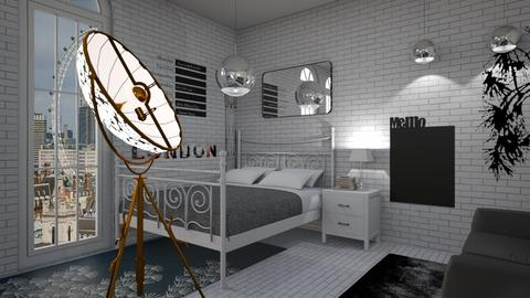 London Lamps - Bedroom  - by Xadiee