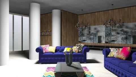 Retro Chic - Retro - Living room  - by Natur_ali