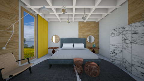 Eclecctico DreamRoom - Eclectic - Bedroom  - by 3rdfloor