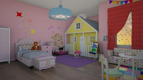 Little Girl - Kids room  - by Molly Taylor