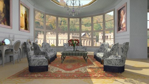 Great Room - Glamour - Living room  - by Your well wisher